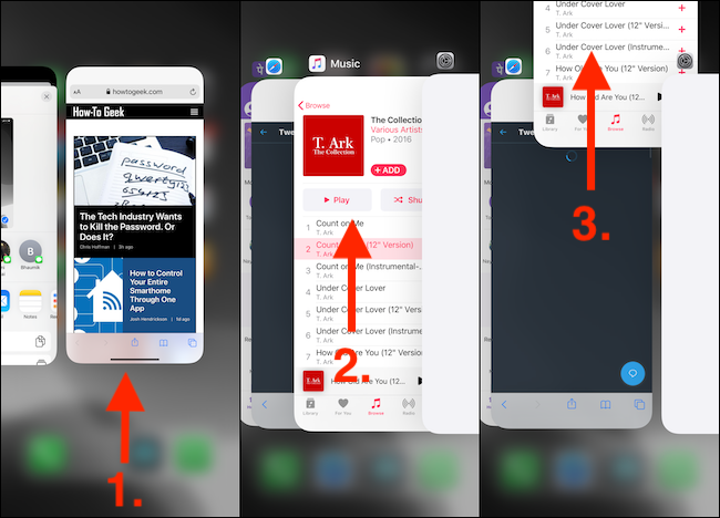 Quit Apps From App Switcher on iPhone