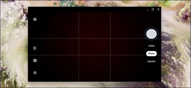Aplicación de cámara Chrome OS
