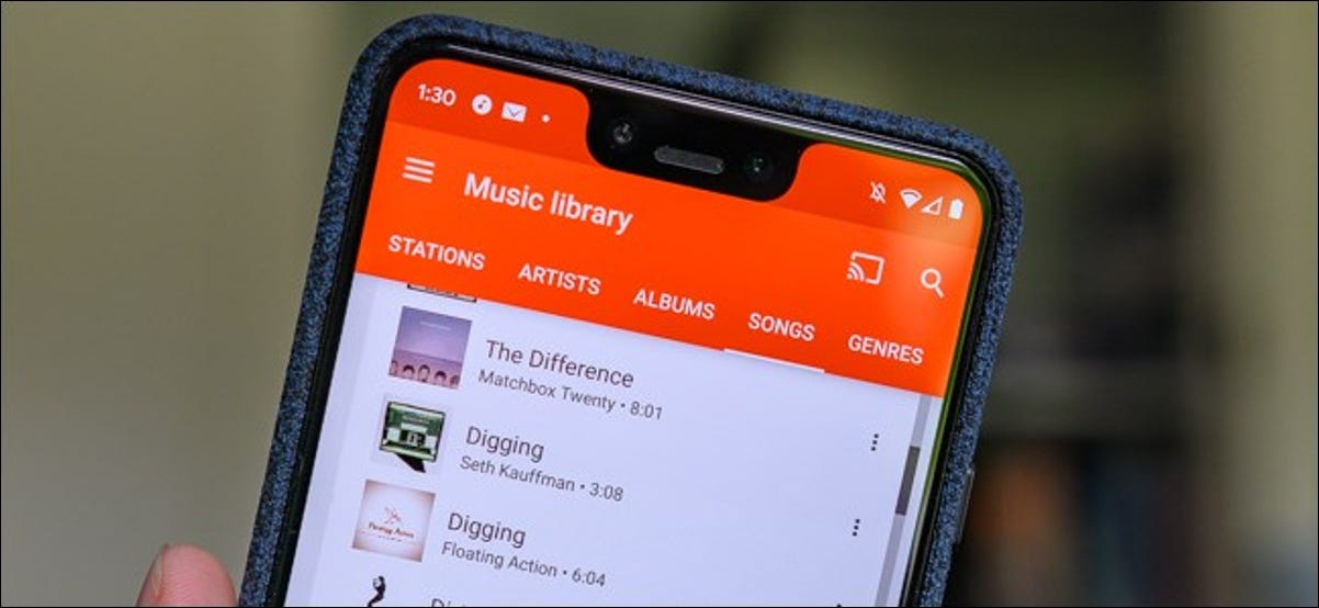 Android Music Library