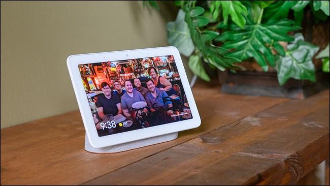 Google Nest Hub Family Photo