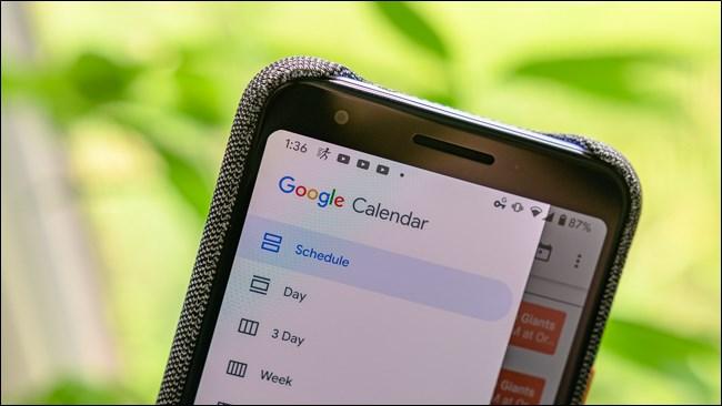 Google Pixel 3a Calendar Logo Mobile