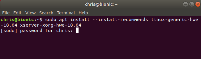 How to Install the Linux 5 0 Update on Ubuntu 18 04 LTS