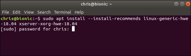 Installing Linux 5.0 on Ubuntu 18.04