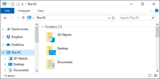 The stupid Windows 3D Objects folder