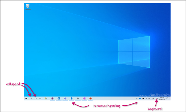Windows 10's new Tablet Mode