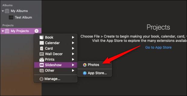 mac slideshow photos