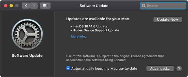 macOS Software Update