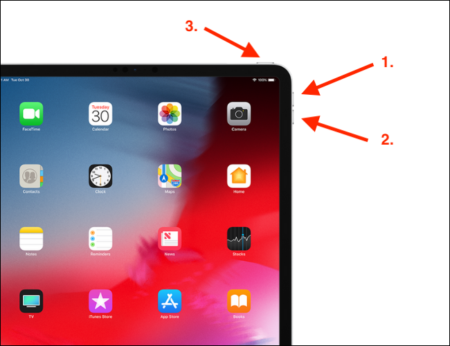 How to Force Restart iPad Pro with Face ID