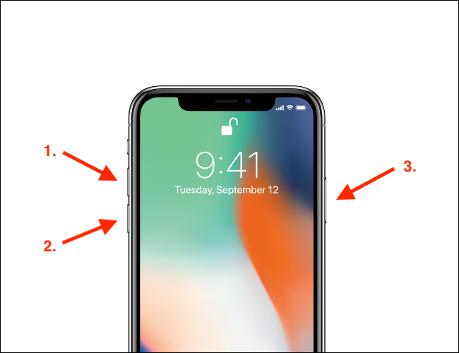 How to Force Restart iPhone X style device with notch and home bar