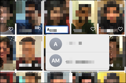 Quick shortcut for adding a name to a face in Photos app on Mac