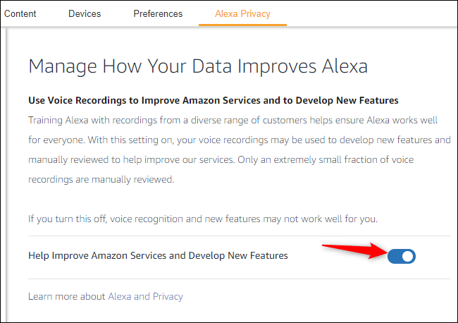 Stopping Amazon contractors from listening to your Alexa recordings