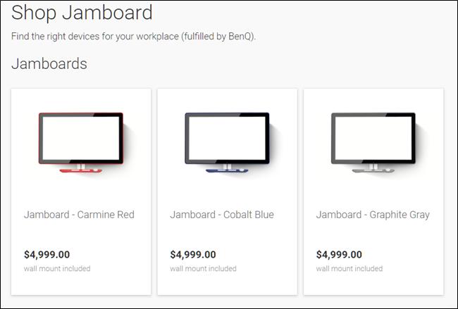 Compra Jamboard.