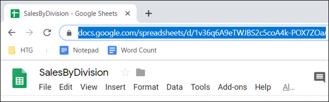 Select and copy the URL to your clipboard.