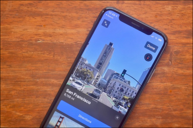 Look Around feature in Maps app in iOS 13