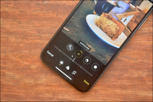 New photo editor in Photos app in iOS 13