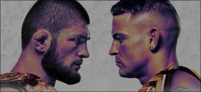 Khabib vs. Poirier fight card
