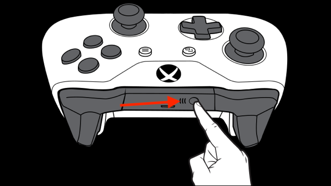 diagram of an Xbox controller