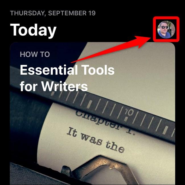 Apple iPhone iOS 13 App Store Seleccionar avatar