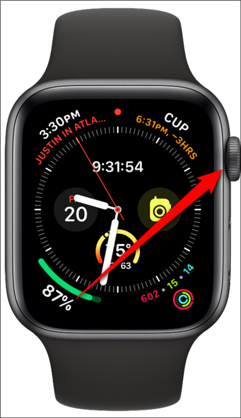 Apple Watch Click Digital Crown