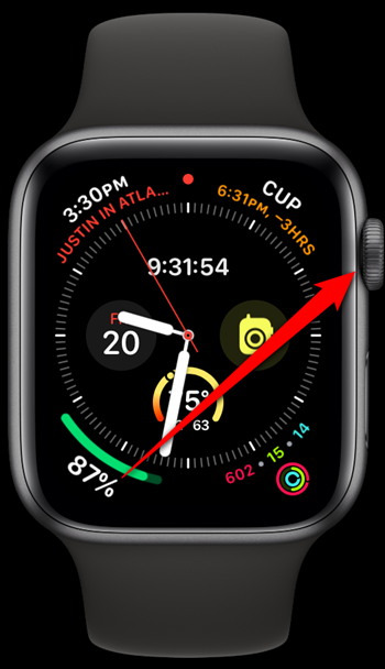 Apple Watch Click Digital Crown
