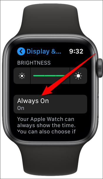 Apple Watch Tap Always On
