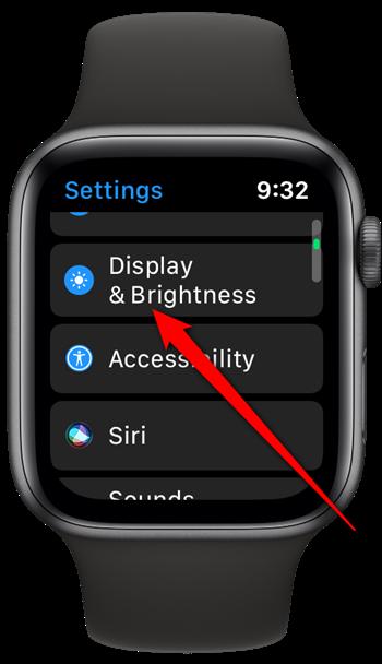Apple Watch Tap Display & Brightness