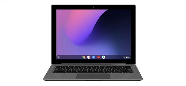 Simulador de Chromebook sin texto