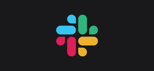 Slack Logo with Dark Background