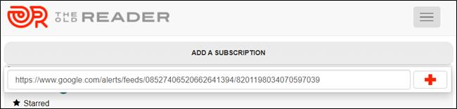 Pegue la URL en su fuente RSS favorita y disfrute viendo todo en un solo lugar.