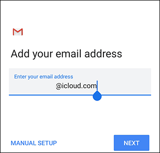 The Gmail sign-in screen.