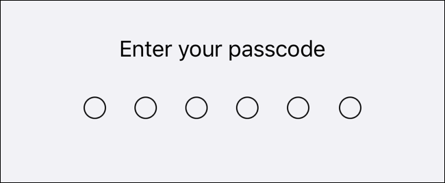 Enter Your Passcode