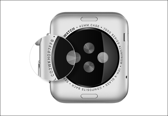 Find the Serial number of Apple Watch on the back case