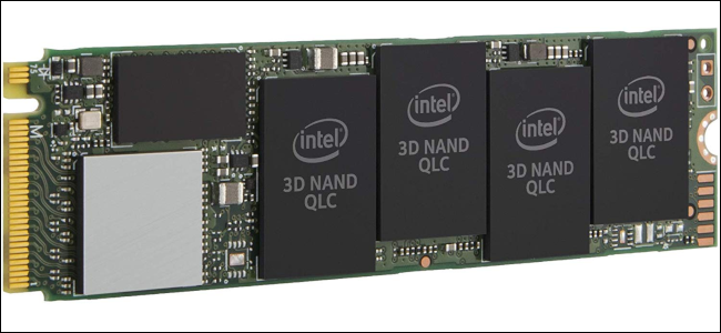 An Intel 660p QLC SSD.