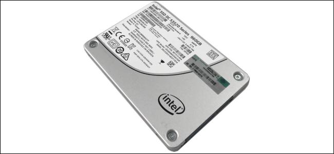The Intel S3520 Series MLC SSD.