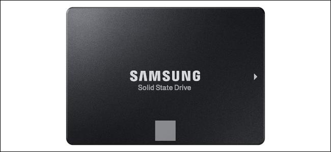 Una unidad de estado sólido de Samsung.