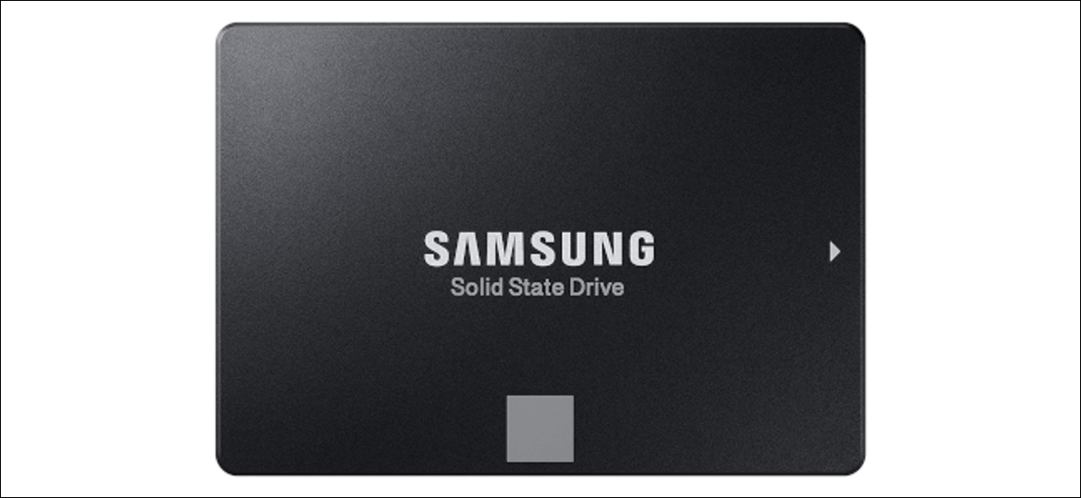 A Samsung solid-state drive.