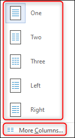 Select column type