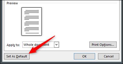 """Click """"Set As Default."""""""