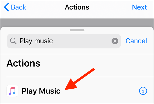 """Tap """"Play Music."""""""