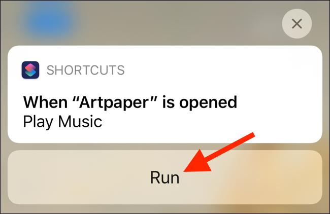 """Tap """"Run."""""""