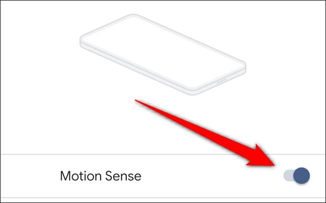 Google Pixel 4 Disable Motion Sense