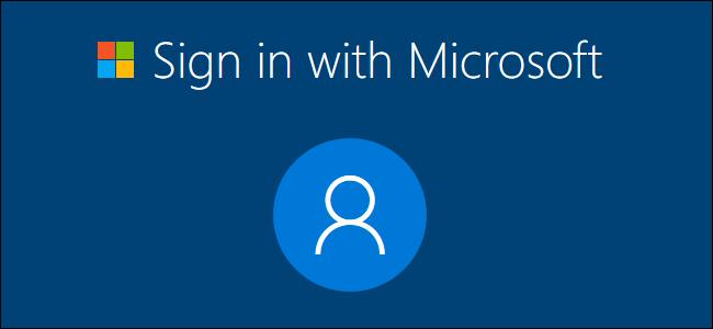 Inicie sesión con Microsoft en el proceso de configuración de Windows 10.