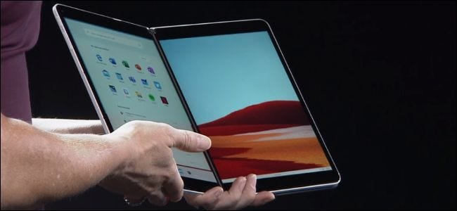 Microsoft's Surface Neo device.