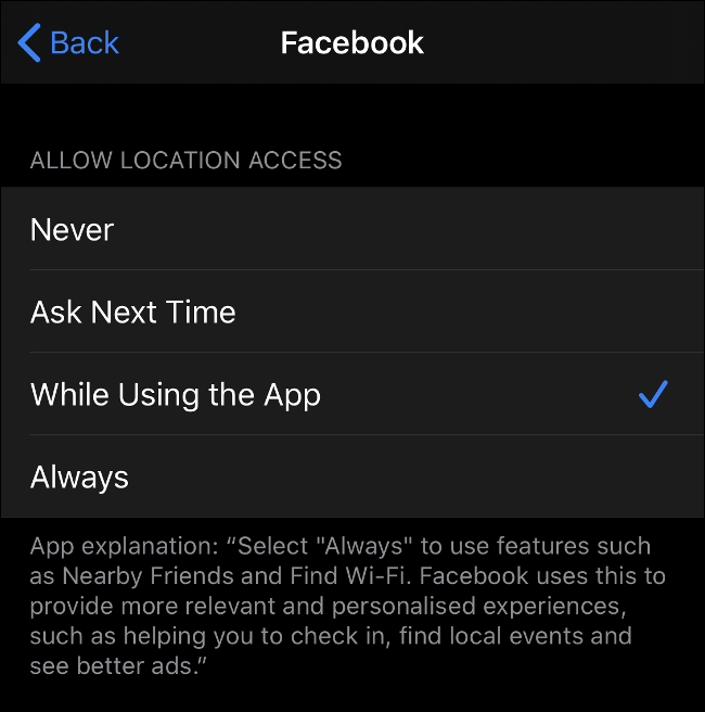 Tighter Location Data Controls in iOS 13
