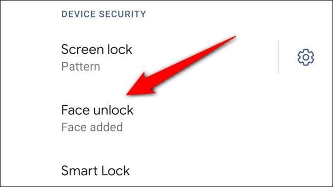 Google Pixel 4 Tap Face Unlock
