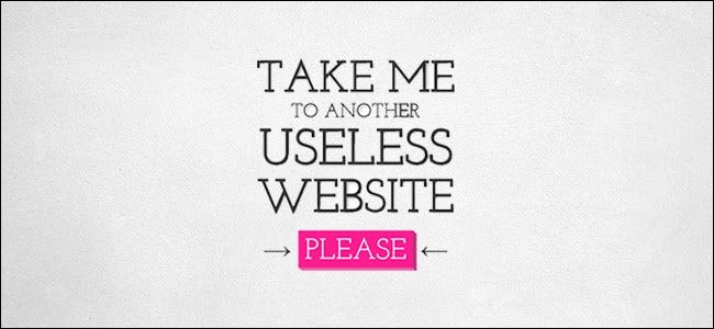 Take Me to Another Useless Website Logo Border