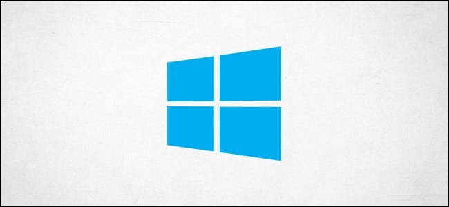 El logotipo de Windows 10.