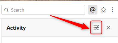 Click the View Options button.