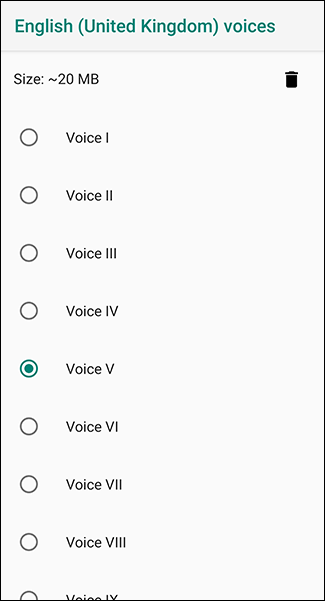 In your language menu, choose your gendered voice