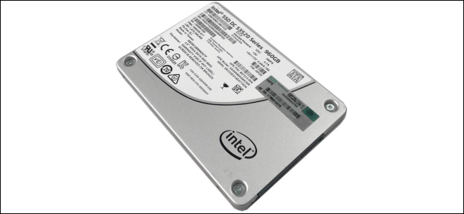 The Intel S3520 Series MLC SSD.